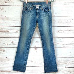 LUCKY BRAND sundown straight regular S-25 jeans.